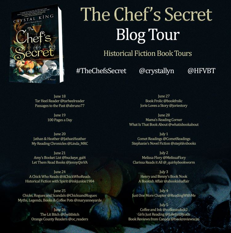 review] The Chef's Secret by Crystal King [blog tour] - book
