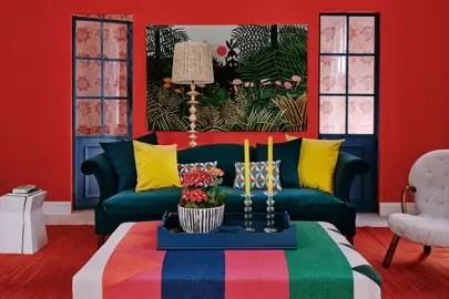 Living Room Ottomans House Amp Garden