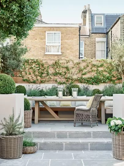 decking patio and terrace ideas for