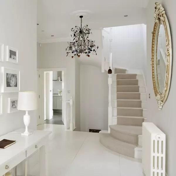 Stylish Stair Runner Carpet Ideas House Garden | Light Grey Carpet Stairs | Industrial | Runner | Modern | Grey Vinyl Flooring | Living Room