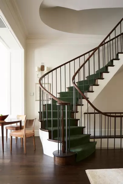 Staircase Ideas House Garden | Double L Shaped Staircase Design | Limited Space | Space Saving Stair | Inner Staircase | Traditional | 90 Degree