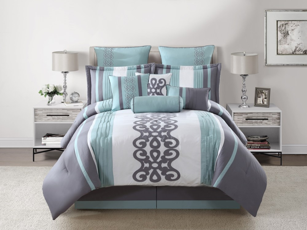 10 Piece Comforter Set King