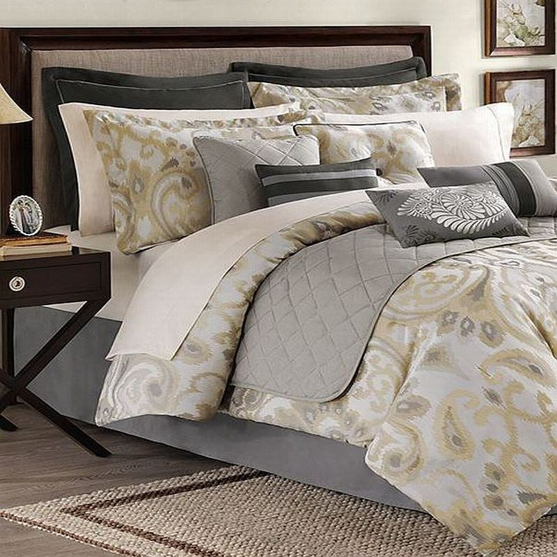 12 Piece Comforter Set Queen