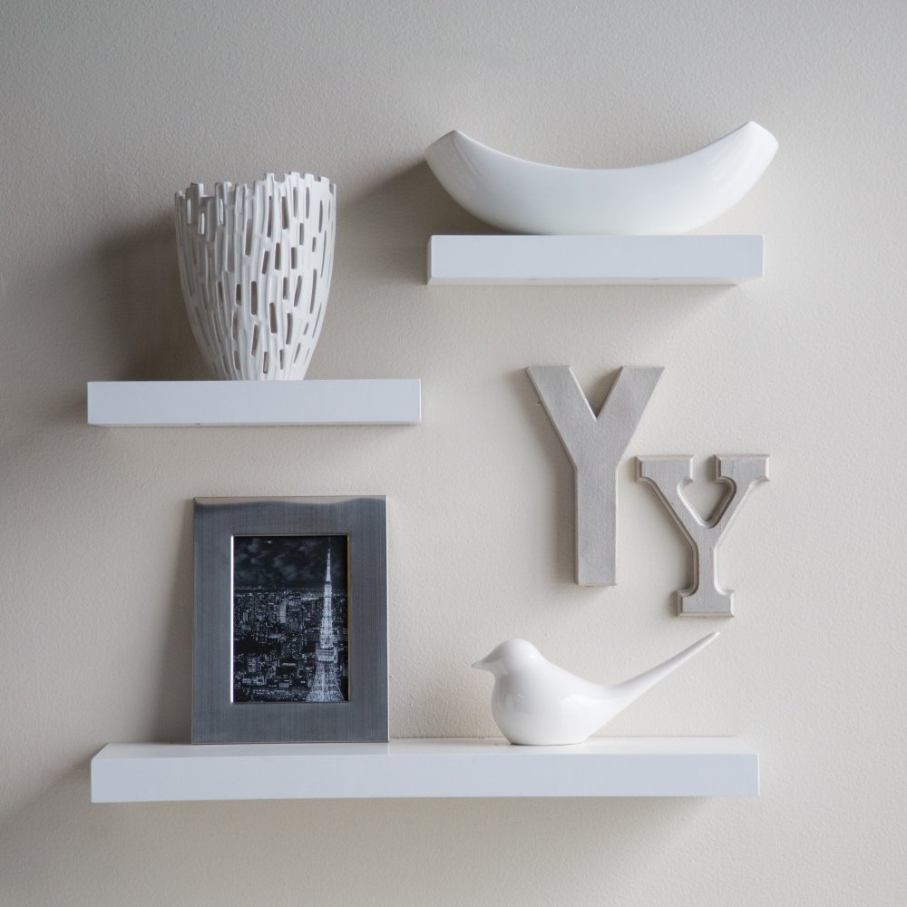 3 Floating Shelves