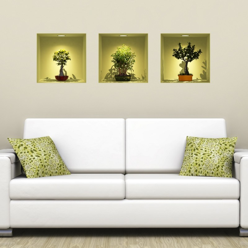 3d Effect Wall Decals