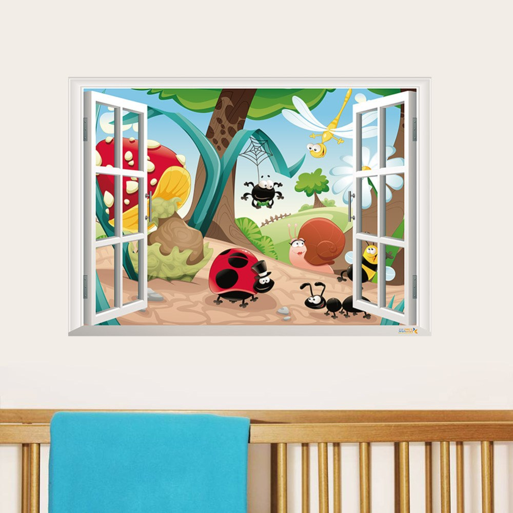 3d Wall Decals For Nursery