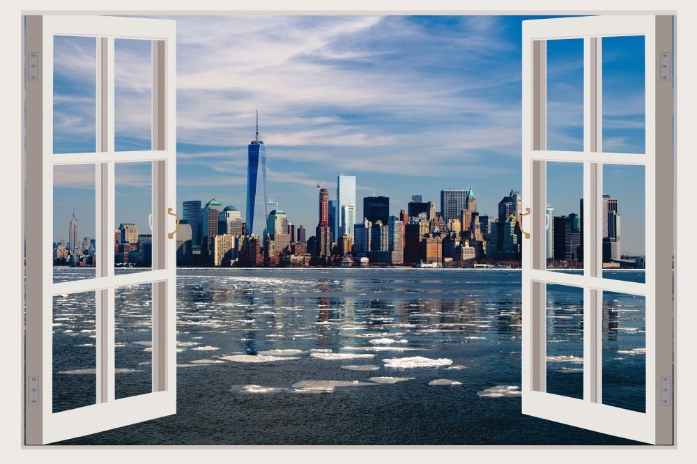 3d Window Wall Decals