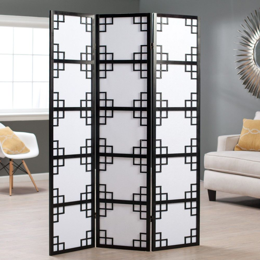4 Panel Room Divider Stand