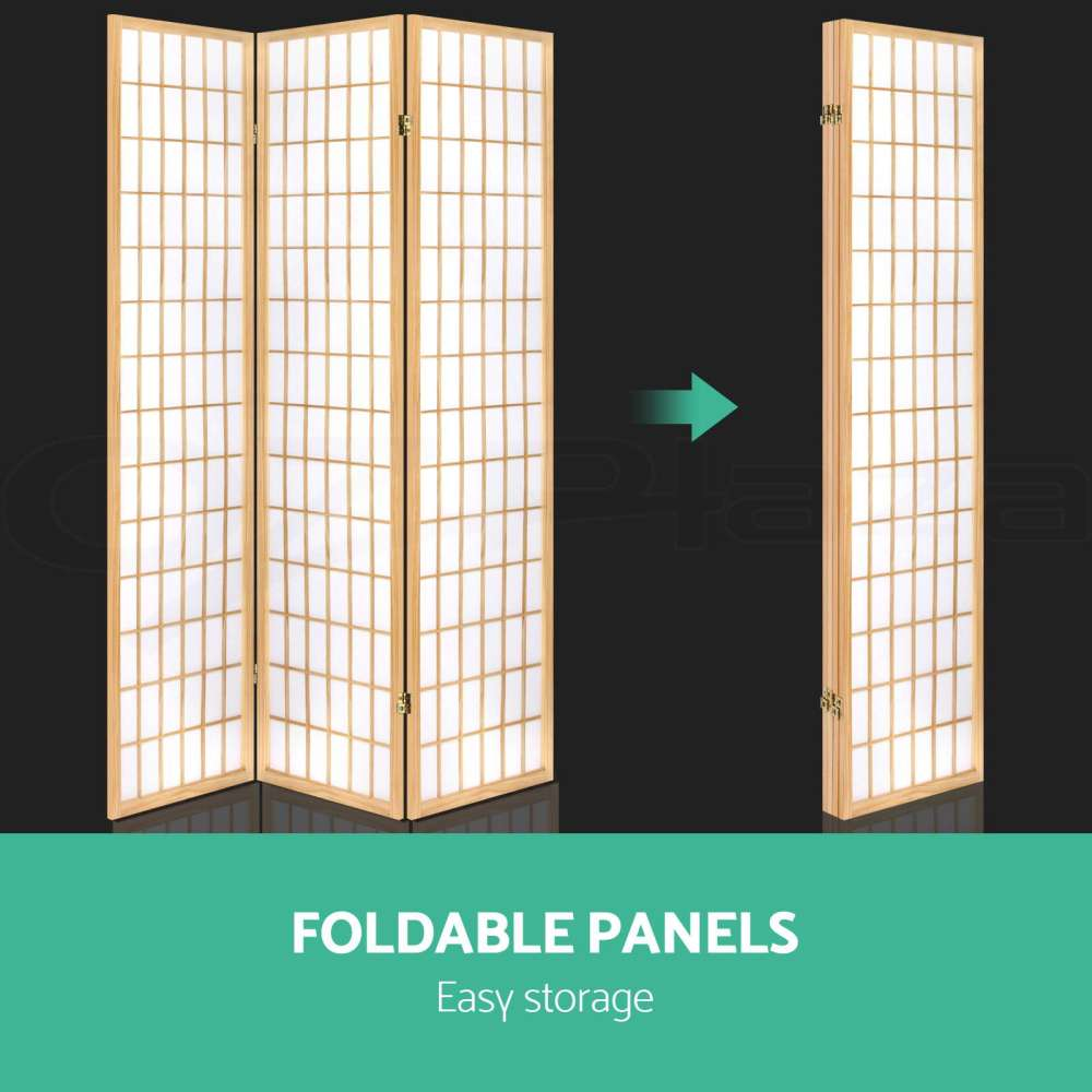 6 Panel Room Divider Stand