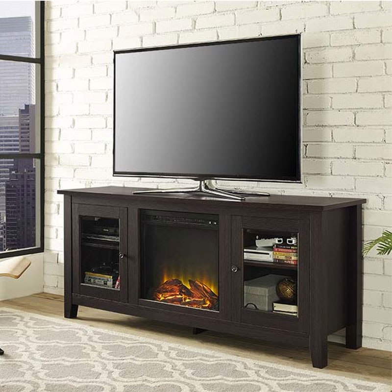 60 Inch Tv Stand With Electric Fireplace