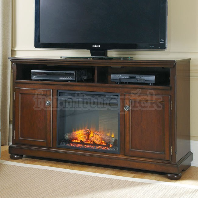 60 Tv Stand With Fireplace