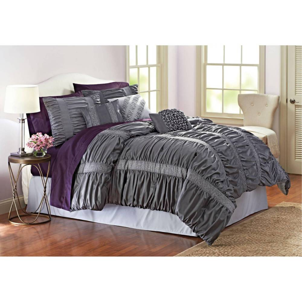 7 Piece Comforter Set Full