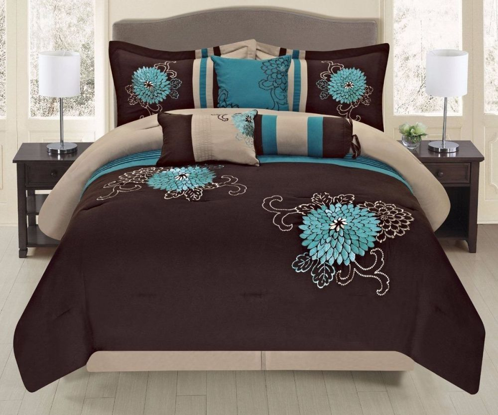 7 Piece Comforter Set Queen