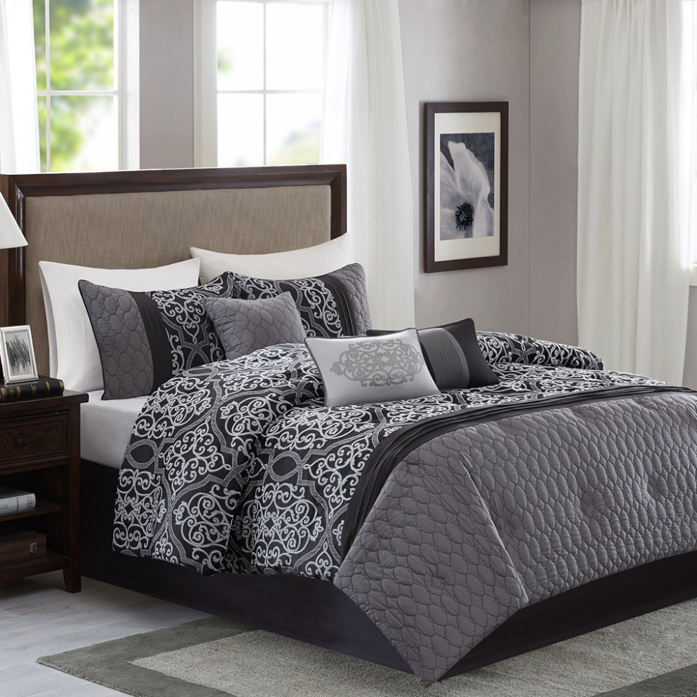 7 Piece Comforter Sets Queen
