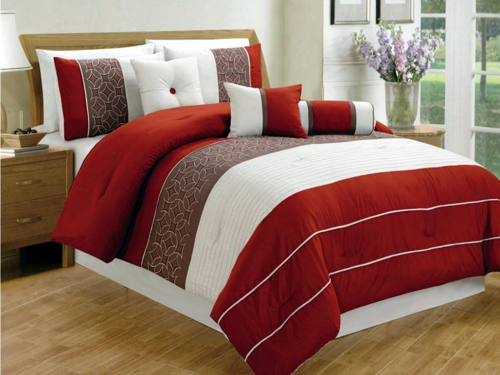 7 Piece Queen Comforter Set