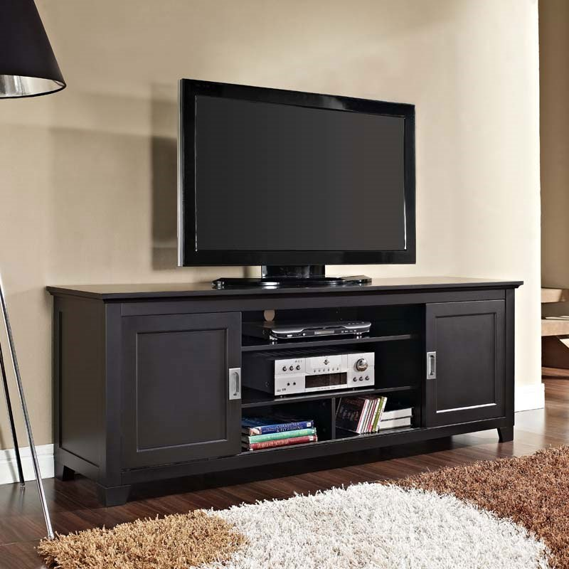 70 Inch Black Tv Stand