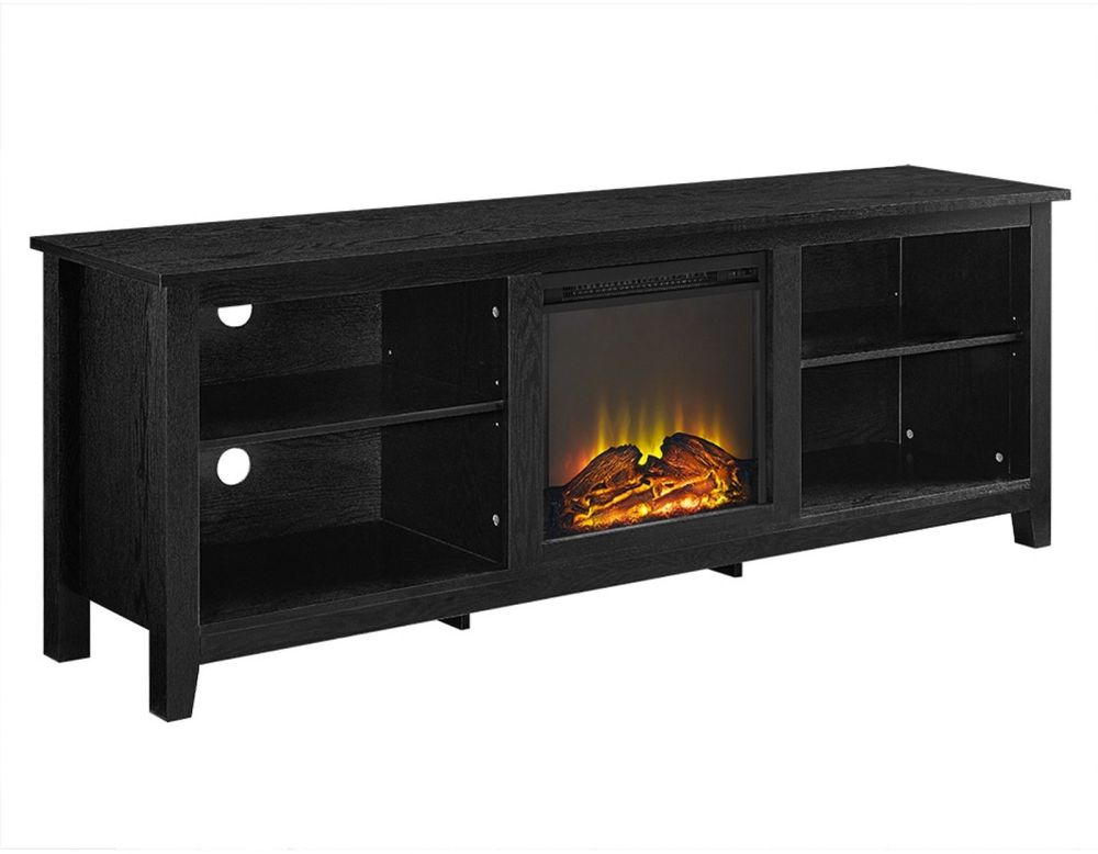 70 Inch Fireplace Tv Stand