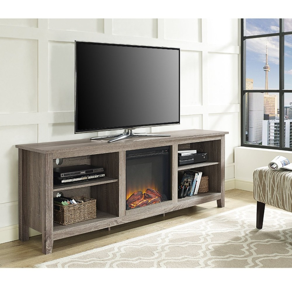 70 Tv Stands With Fireplace