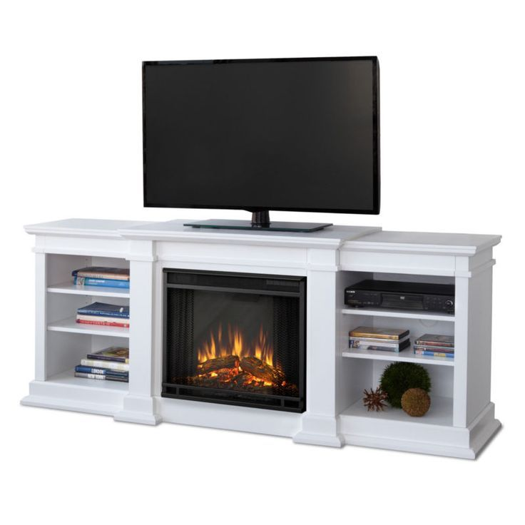 72 Tv Stand With Electric Fireplace
