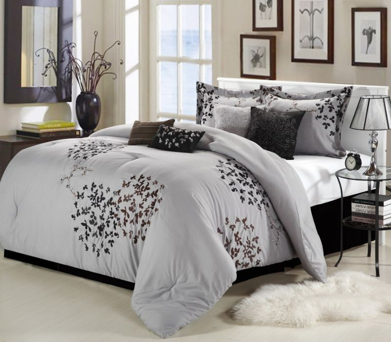8 Piece Queen Comforter Sets