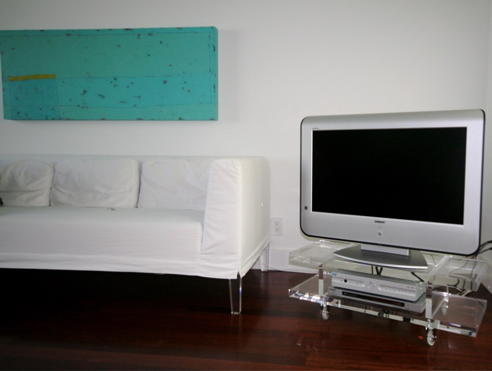 Acrylic Tv Stand