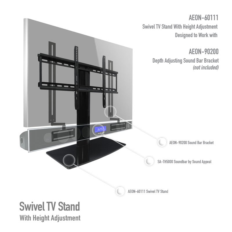 Adjustable Wall Mount Tv Stand