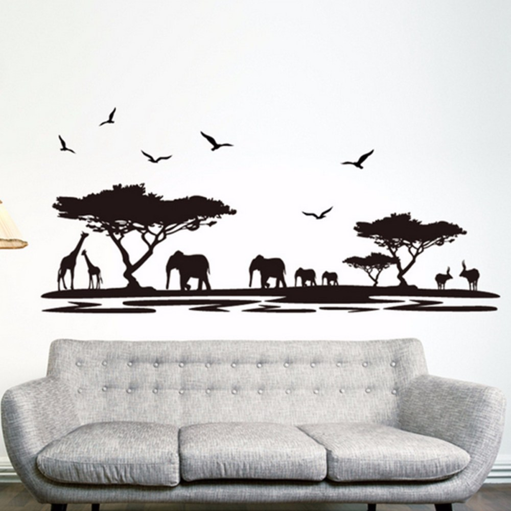 African Wall Decals