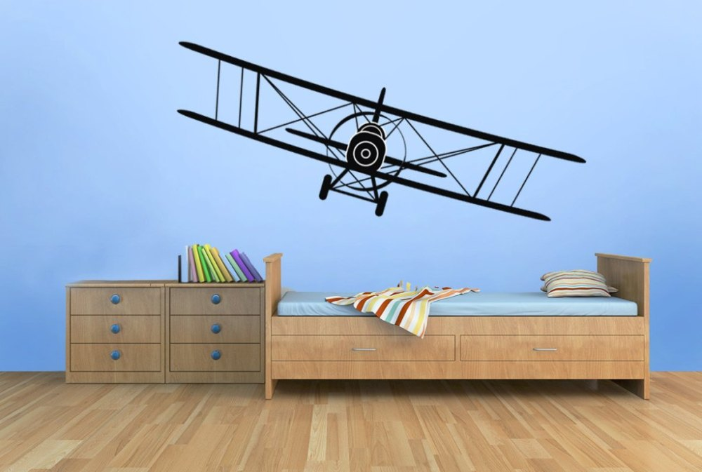 Airplane Wall Decals For Nursery
