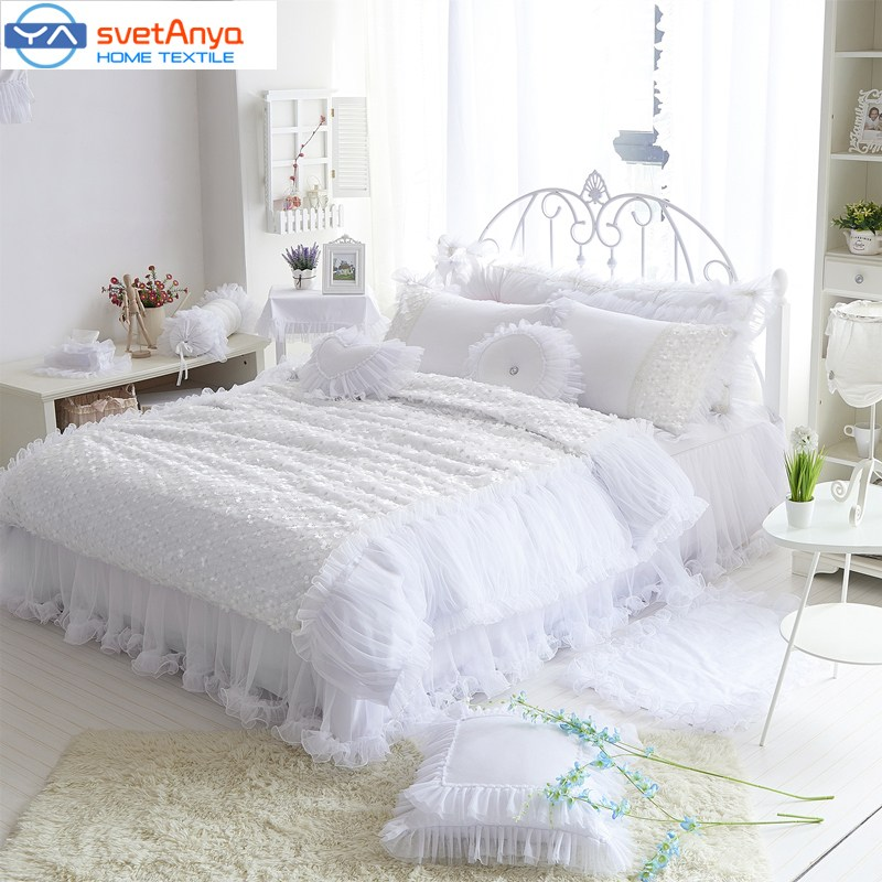 All White Comforter Set Full