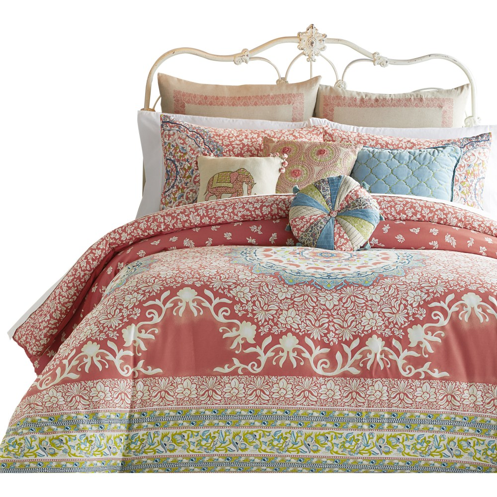 Amrita Medallion 3 Piece Comforter Set