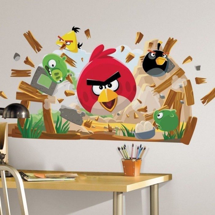 Angry Bird Wall Decals