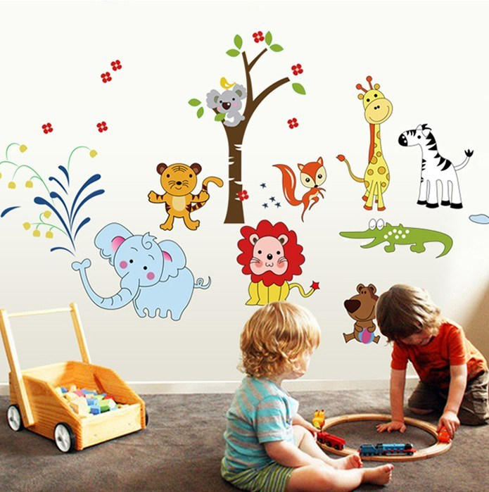 Animal Decals For Walls