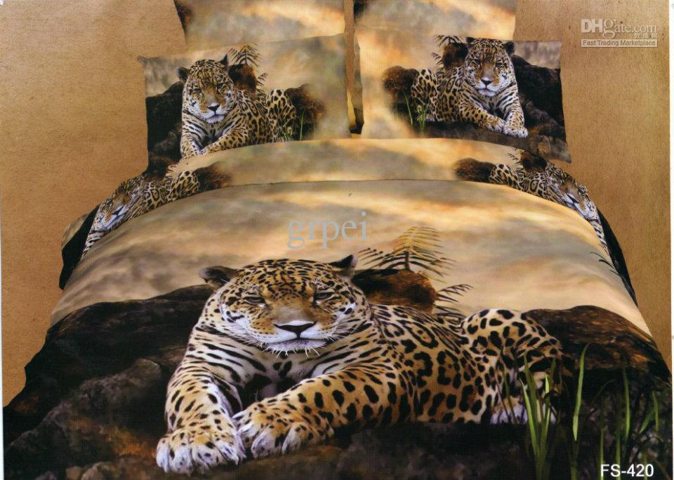 Animal Print Comforter Set Queen