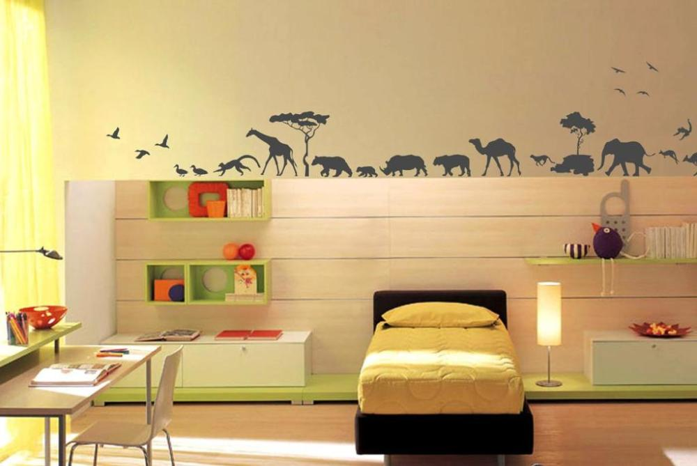 Animal Wall Decals For Nursery