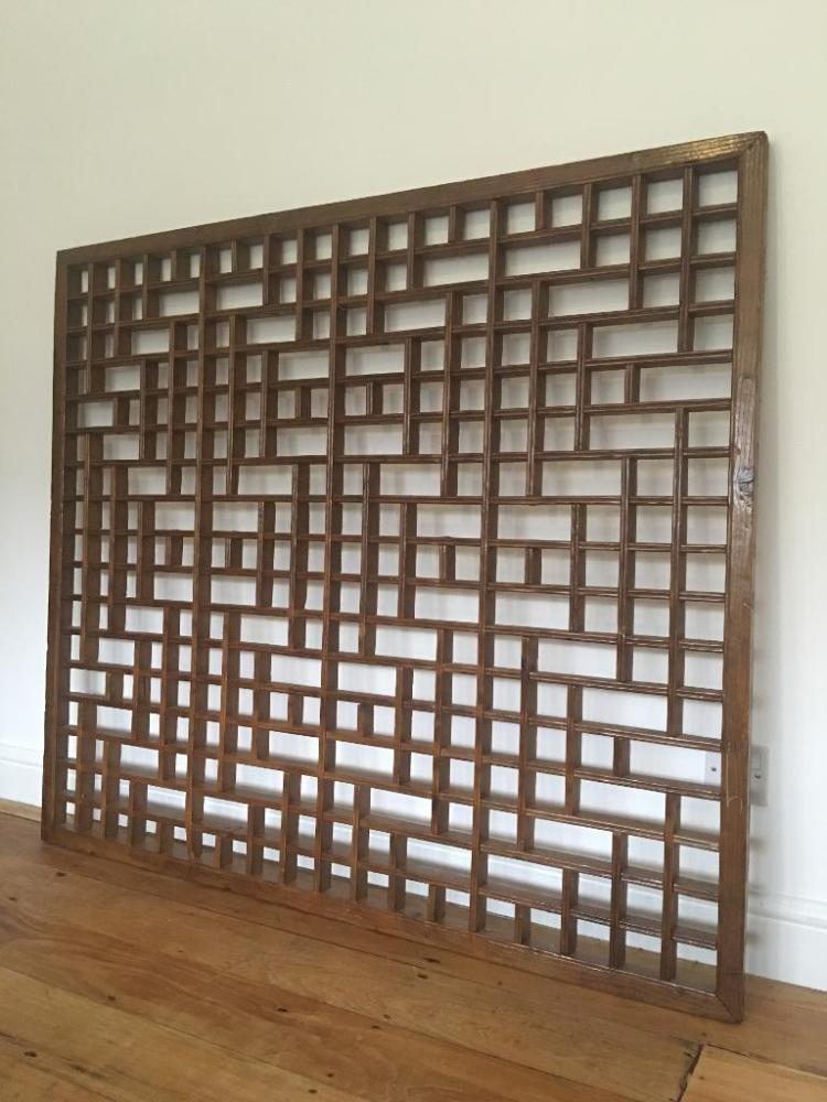 Antique Room Divider Panels