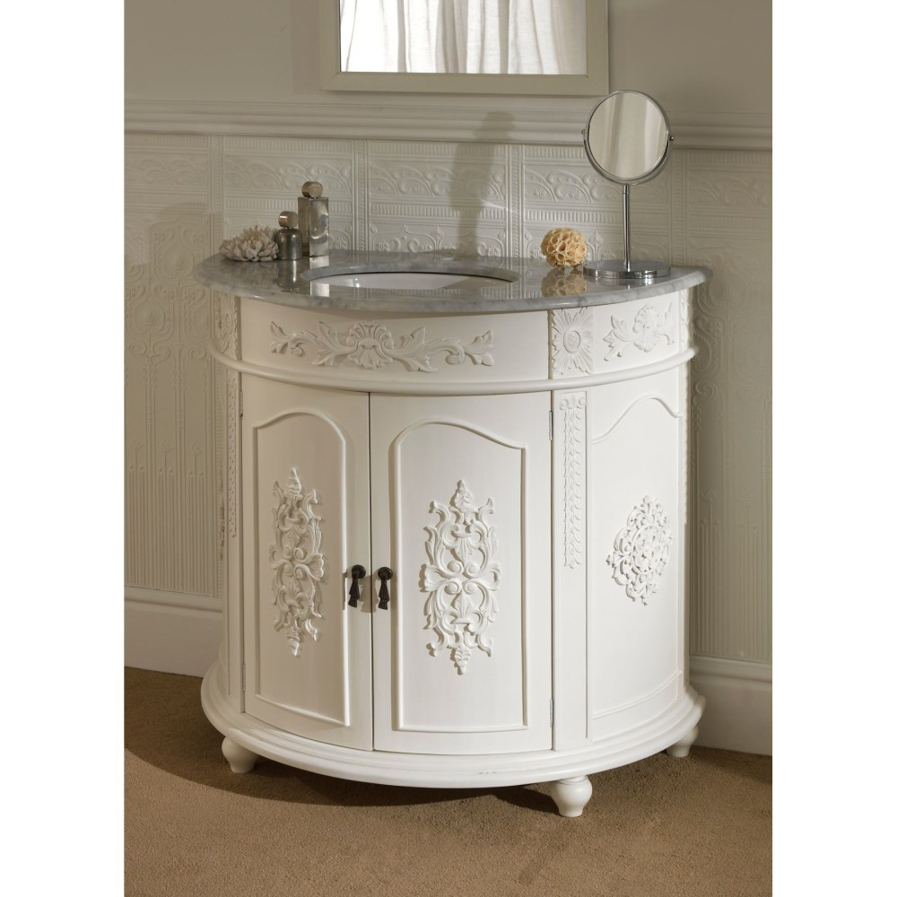 Antique Style Bathroom Cabinets