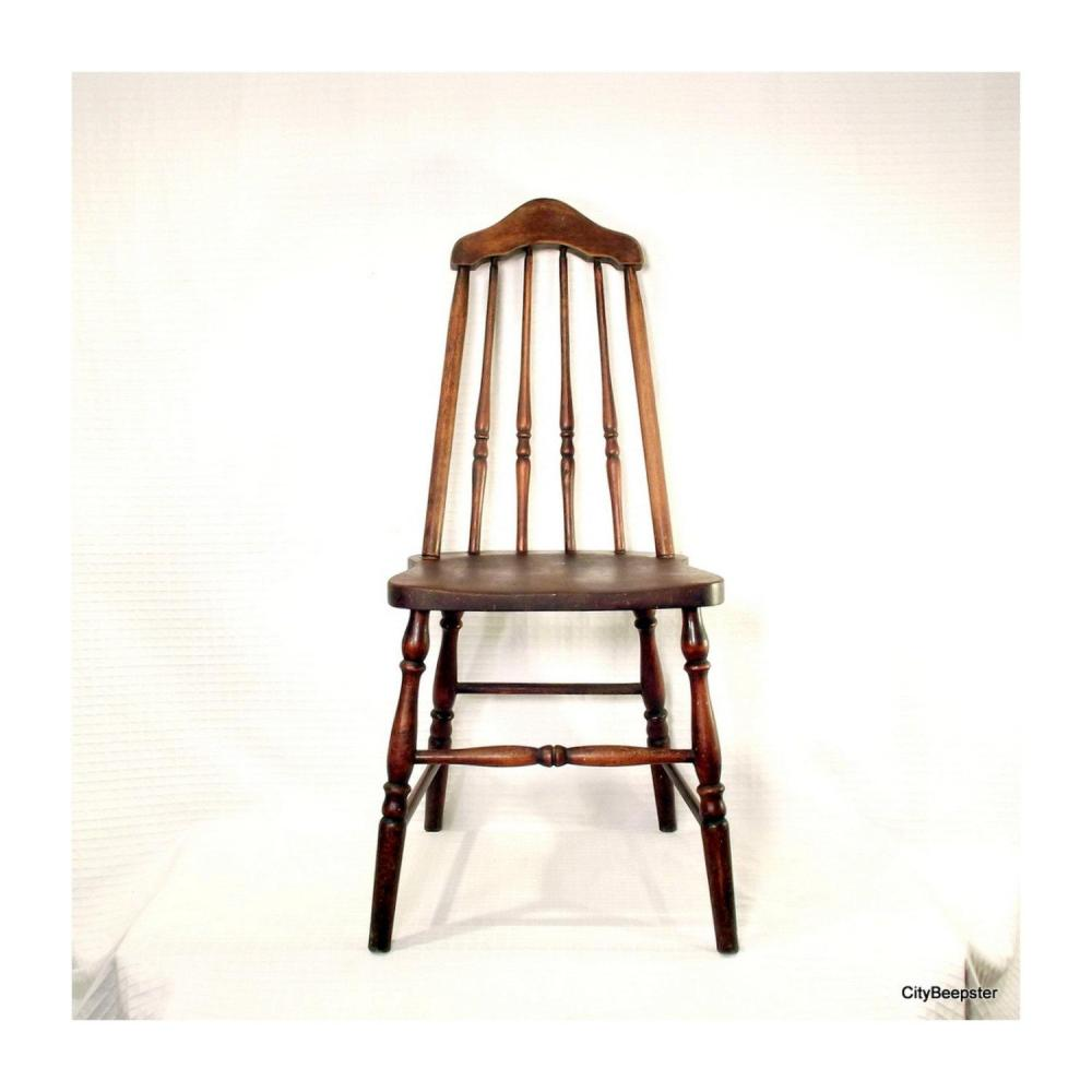 Antique White Office Chair