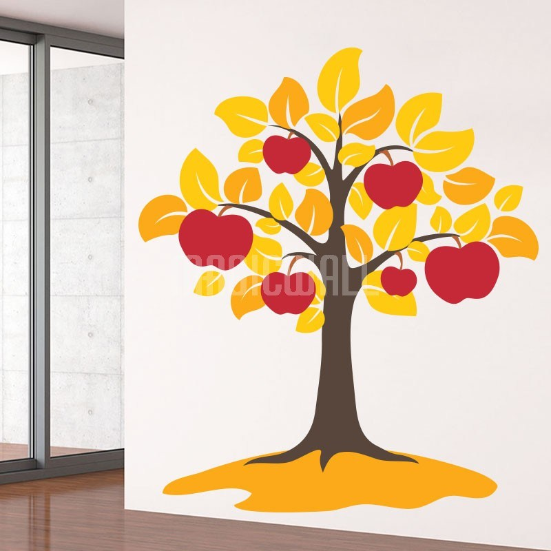 Apple Tree Wall Decals