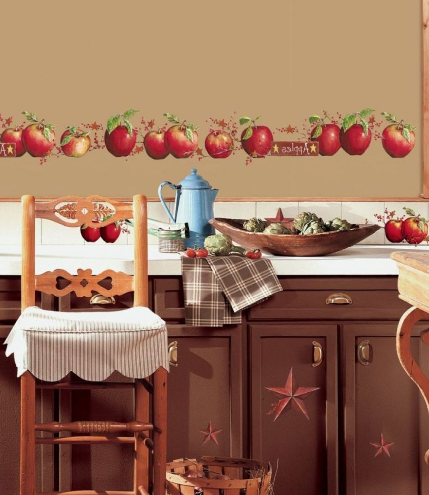 Apple Wall Decals For Kitchen