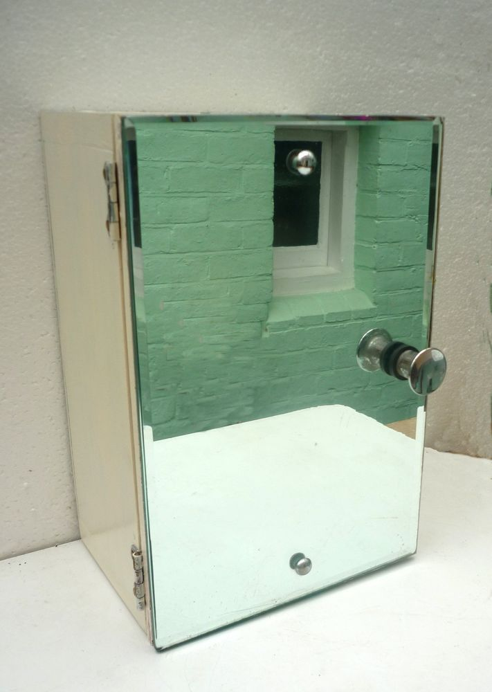 Art Deco Bathroom Mirror Cabinet