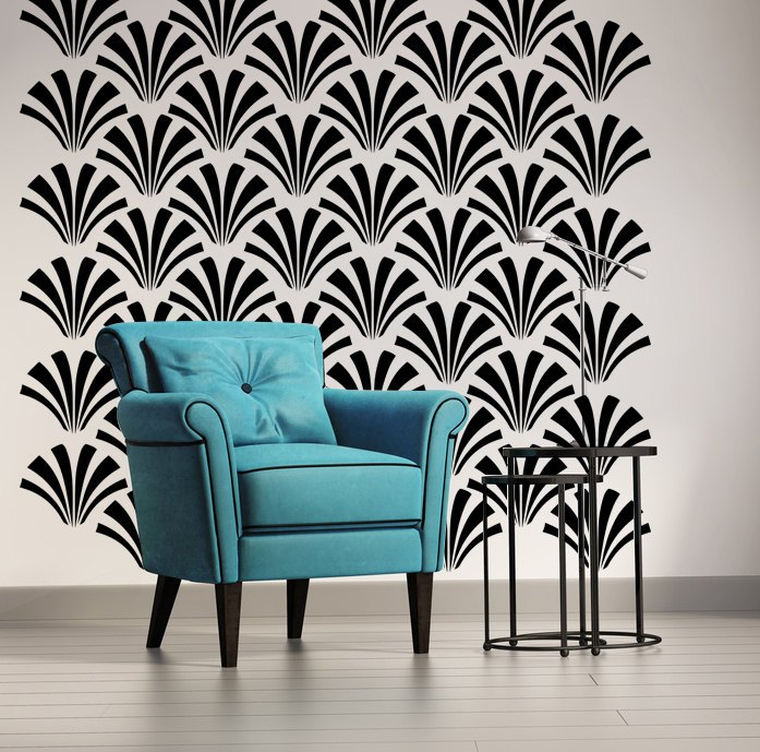 Art Deco Wall Decals