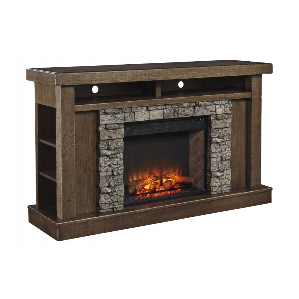Ashley Tv Stand With Fireplace