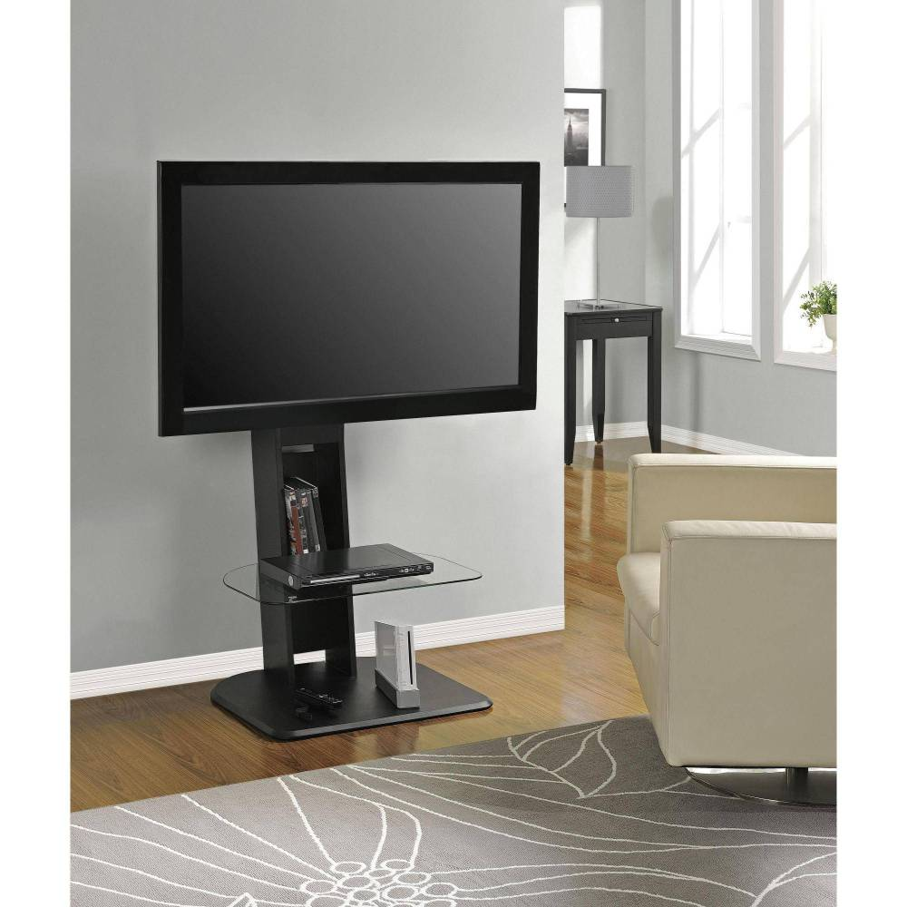 Atlantic Furniture Tabletop Tv Stand Black