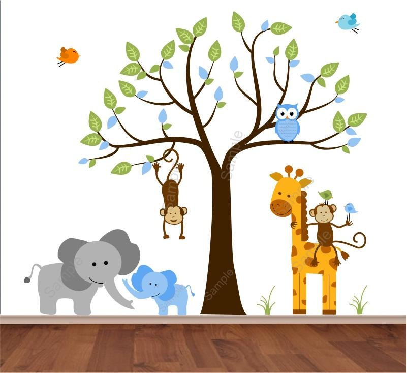 Baby Animal Wall Decals