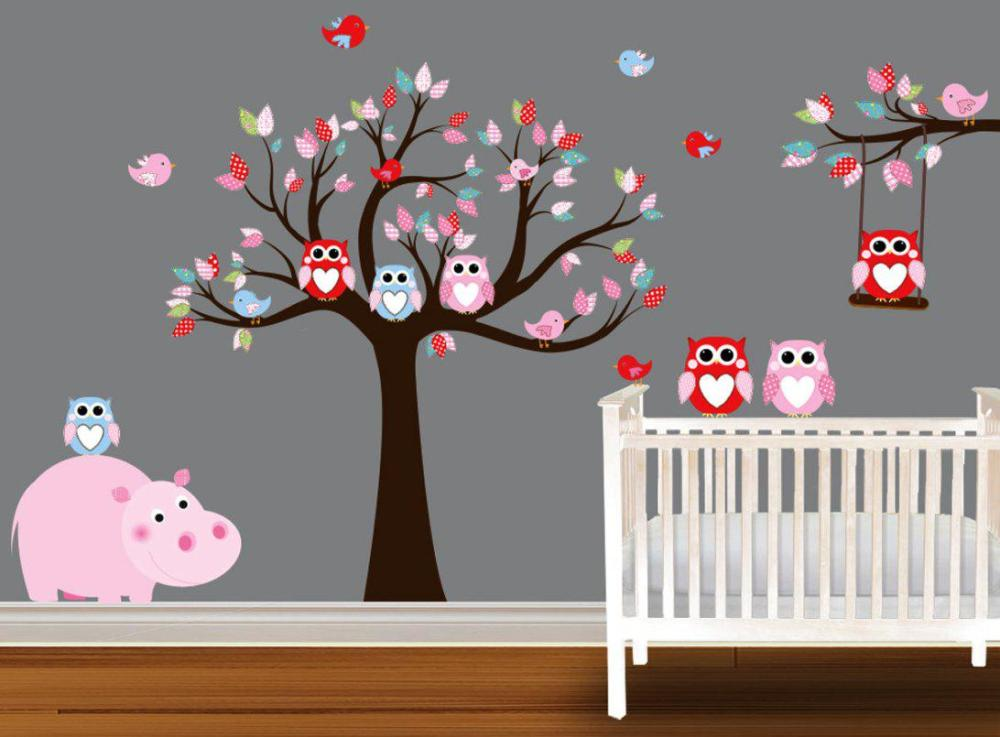 Baby Girl Nursery Wall Decals
