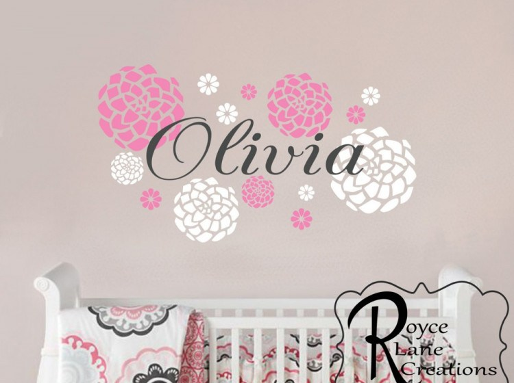 Baby Girl Wall Decals For Nursery
