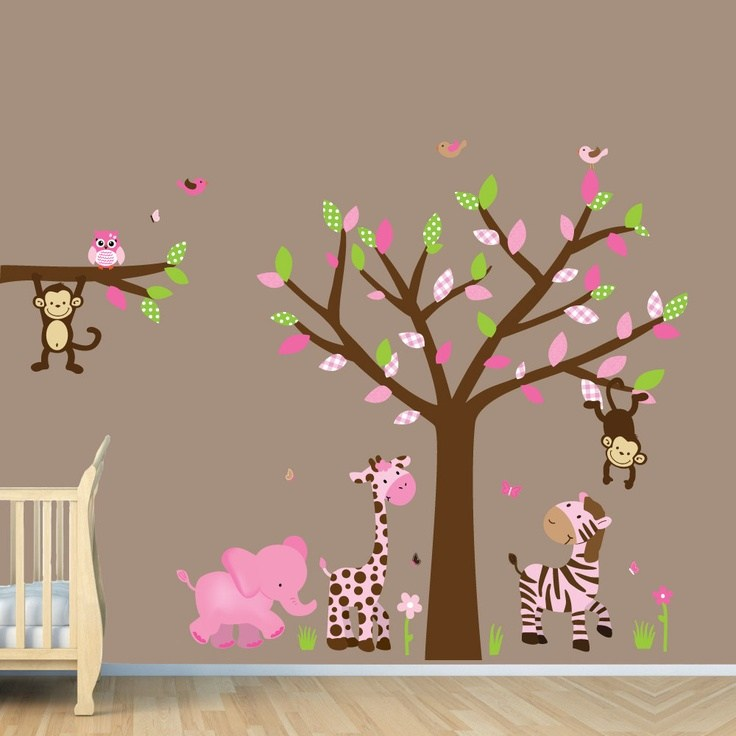 Baby Girl Wall Decals