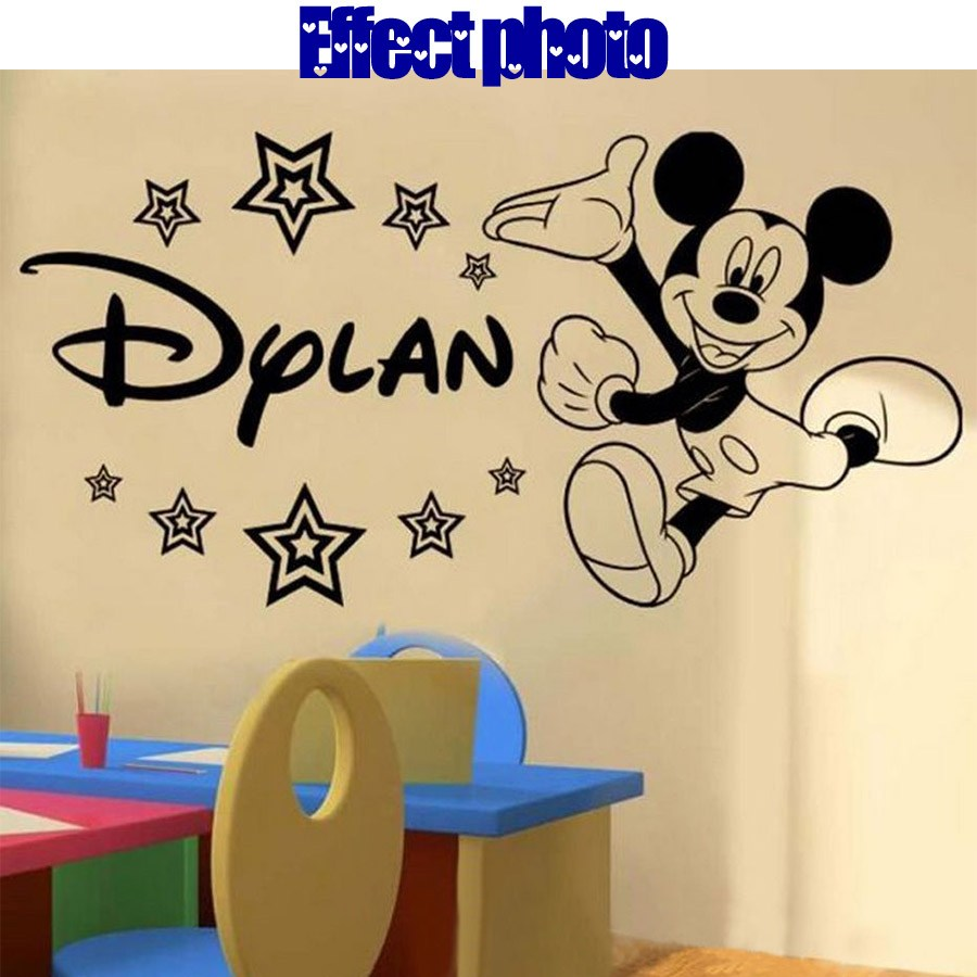 Baby Mickey Mouse Wall Decals