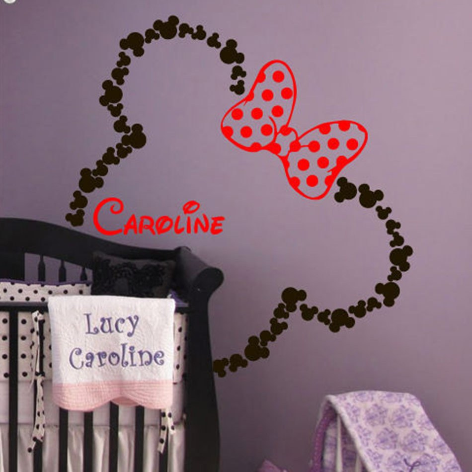Baby Names Wall Decals