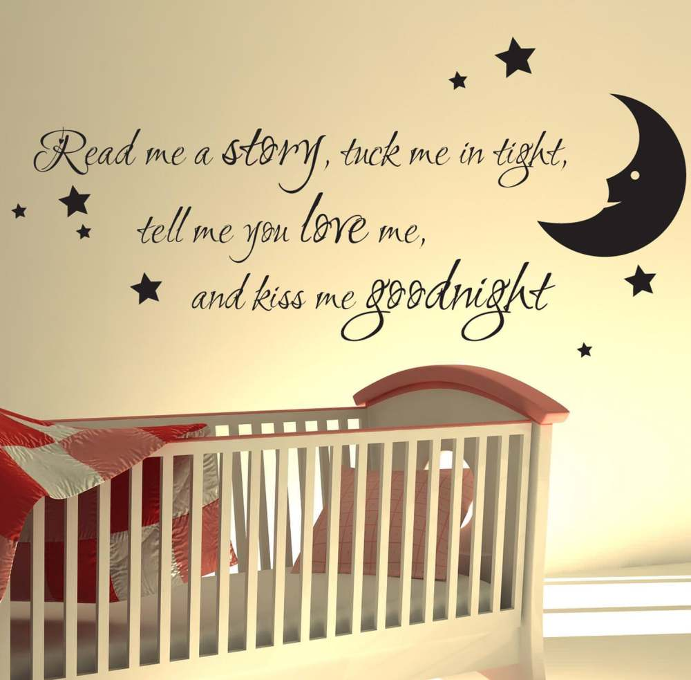 Baby Nursery Wall Decals Sayings